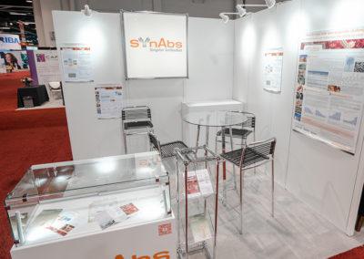 SynAbs trade show exhibit
