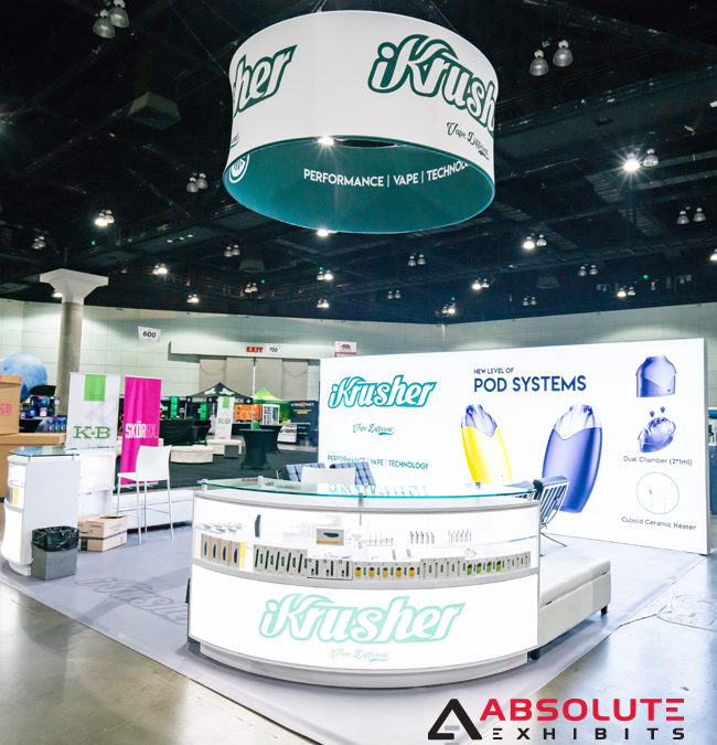 Make Your Small Products Stand Out in Your Trade Show Exhibit
