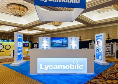 Lycamobile Web Trade Show Exhibit