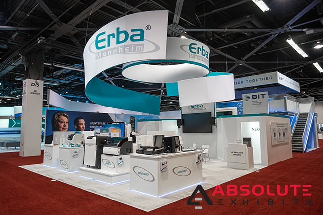 medical trade show display