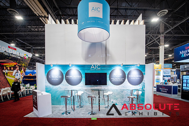 10x20 trade show booth design