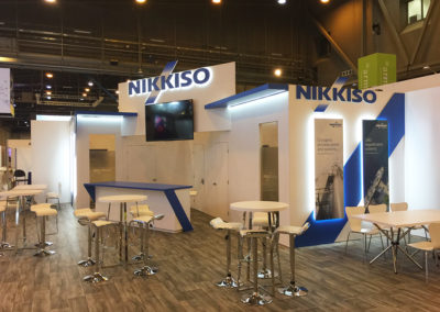 Nikkiso-gas-trade-show-booth