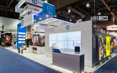Integrate Multiple Brands in One Trade Show Exhibit Intelligently