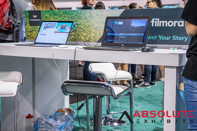 trade show display technology