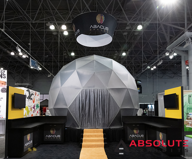 abacus brands trade show display