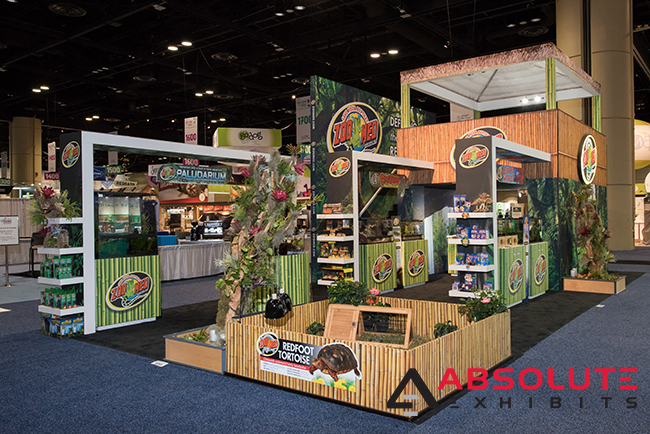 themed trade show display