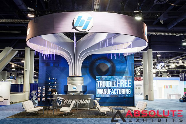 Fun Ways to Integrate LED Lights into Your Trade Show Display