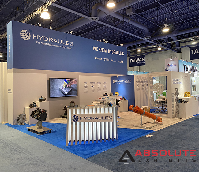 Hydraulex trade show booth space