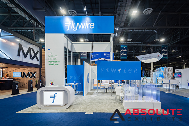20x20 trade show booth design ideas