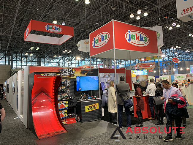 crowded trade show display brand strategy