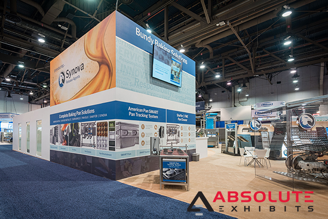 trade show exhibit large format graphics