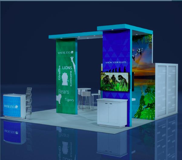 trade show display design